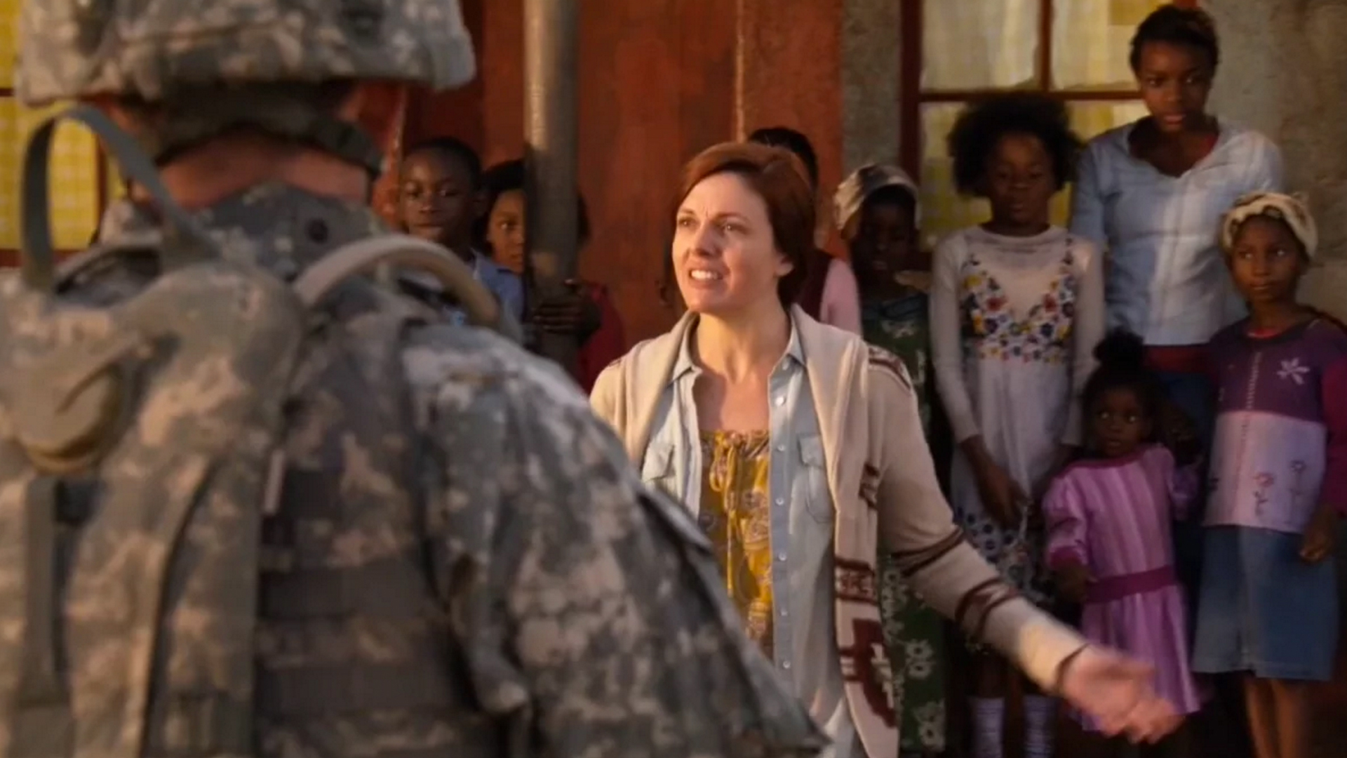 Claire in Army Wives